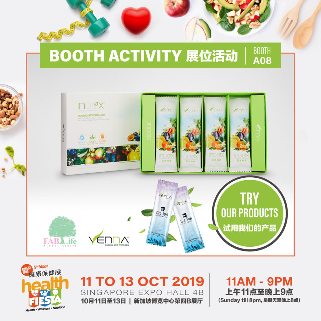 FABLife Pte Ltd - Booth A08